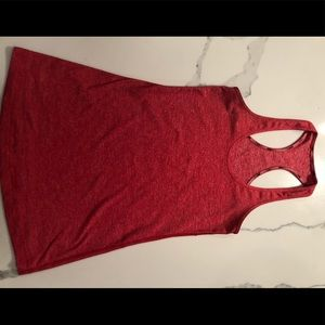 Cool Racerback size 4, heathered red